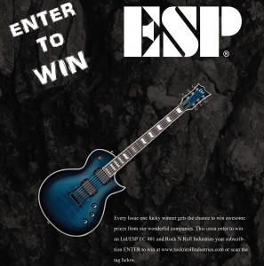Enter to win ESP