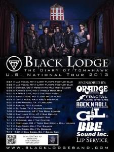 Blacklodge tour dates