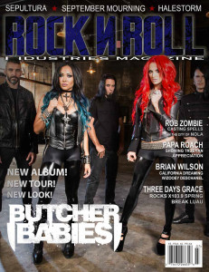 butcher babies #13 cover