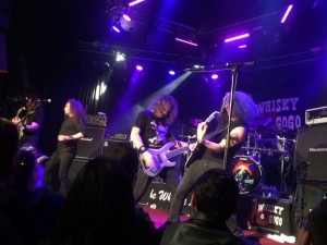 Metal Allegiance jamming
